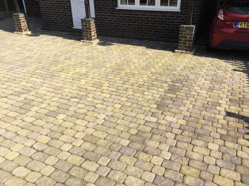 Block Paving For Driveways Patios And Gardens In Essex